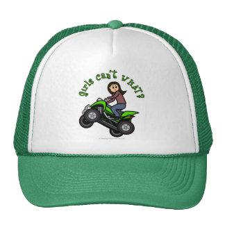 Light ATV   Four Wheeling Girl Trucker Hat