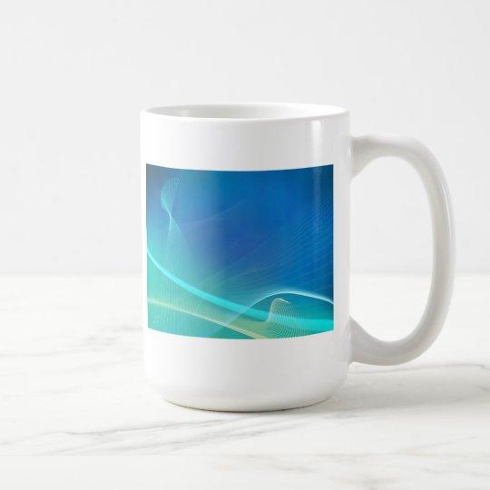 Light Aura: Abstract Artwork: Coffee Mug