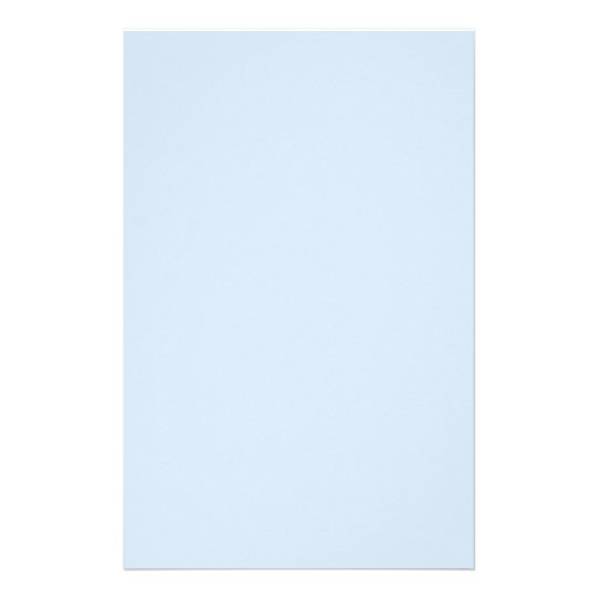 Light Baby Blue Stationery
