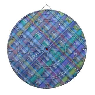 Light Beams  : Blue Hue Colorful Spectrum Dart Boards