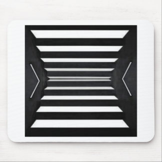 LIGHT Beams : BNW B&W BlackNwhite Spectrum Mouse Pad