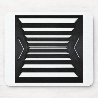 LIGHT Beams : BNW B&W BlackNwhite Spectrum Mouse Pad
