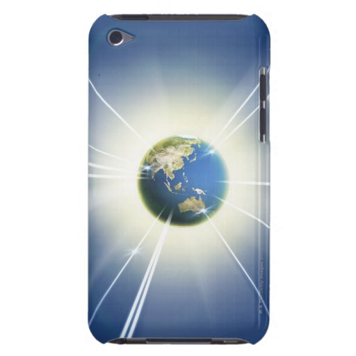 Light Beams from Earth 2 iPod Touch Case-Mate Case