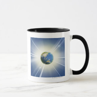 Light Beams from Earth 2 Mug