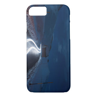 Light beams in the snow iPhone 7 case