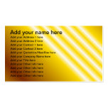 Light beams on yellow background business cards