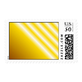 Light beams on yellow background postage
