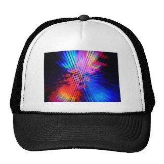 light beams trucker hat