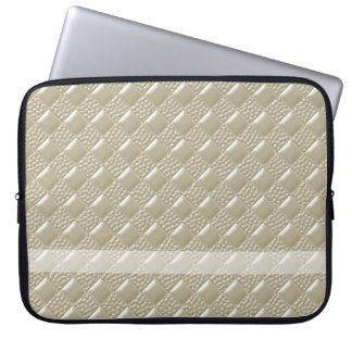 Light Beige Laptop Sleeve