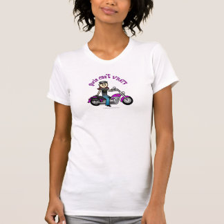 Light Biker Girl T-Shirt