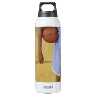 LIGHT BLUE 16 OZ INSULATED SIGG THERMOS WATER BOTTLE