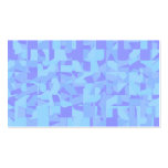 Light Blue Abstract Pattern Business Card Template