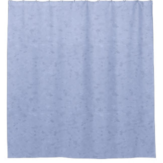 Light Blue Abstract Pattern Shower Curtain