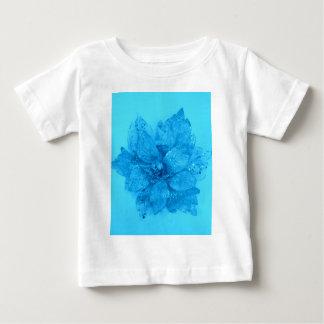 Light Blue Admiro Flower Design Baby T-Shirt