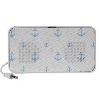 Light Blue Anchor Portable Speaker