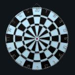 """Light Blue And Black Dartboard<br><div class=""""desc"""">Light Blue And Black Dart Board</div>"""