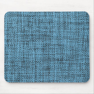 Light blue and black strings mouse pad