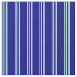 [ Thumbnail: Light Blue and Blue Colored Striped Pattern Fabric ]