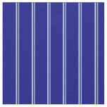 [ Thumbnail: Light Blue and Blue Colored Stripes Pattern Fabric ]