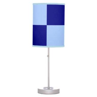 Light Blue and Dark Blue Rectangles Desk Lamps