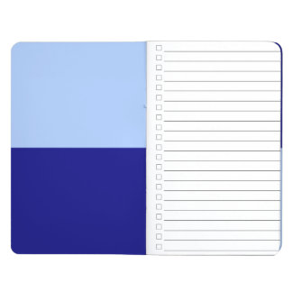Light Blue and Dark Blue Rectangles Journal