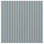 [ Thumbnail: Light Blue and Dim Gray Lines/Stripes Pattern Fabric ]