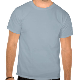 Light Blue and Grey T-shirt Dogs Leave Paw Prints
