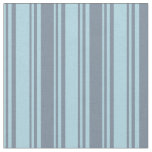 [ Thumbnail: Light Blue and Light Slate Gray Lines Fabric ]