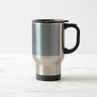 Light Blue and Lilac Gradient Travel Mug