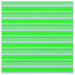 [ Thumbnail: Light Blue and Lime Lined Pattern Fabric ]
