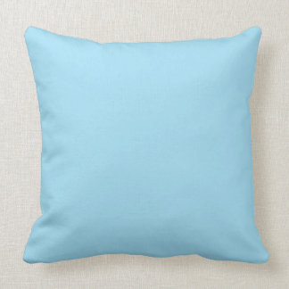 Sky Blue Color Background Pillows Decorative Throw Pillows