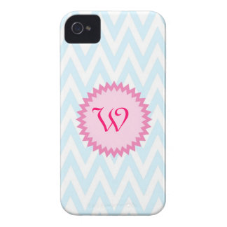 Light Blue and Pink Iphone 4 Case