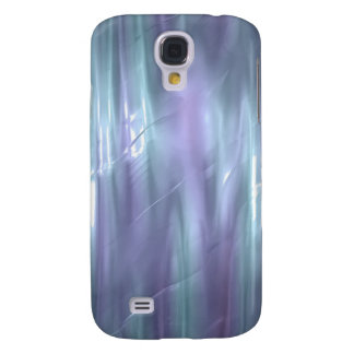 Light Blue and Purple Liquid Silk Effect 3G Galaxy S4 Case