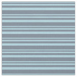 [ Thumbnail: Light Blue and Slate Gray Lined Pattern Fabric ]