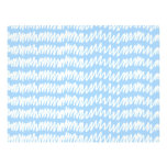 Light blue and white squiggle pattern. custom flyer
