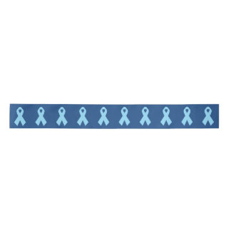 Light Blue Awareness Ribbon blue Satin Ribbon