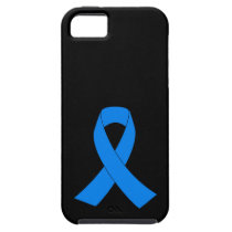 Light Blue Awareness Ribbon iPhone SE/5/5s Case