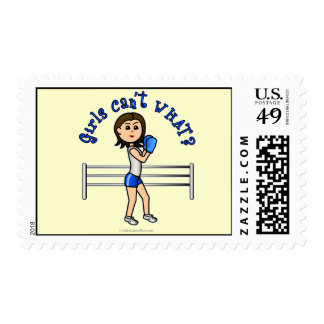 Light Blue Boxer Stamp