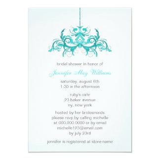 Light Blue Bridal Shower Invitations