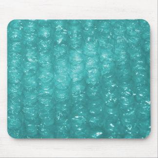 Light Blue Bubble Wrap Effect Mouse Pad