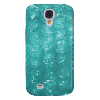 Light Blue Bubble Wrap Effect Samsung Galaxy S4 Cover