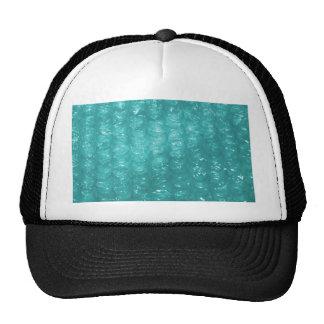 Light Blue Bubble Wrap Effect Trucker Hat