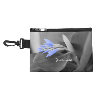 Light Blue Buds selective color Accessory Bag