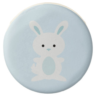 Light Blue Bunny Easter Chocolate Covered Oreos