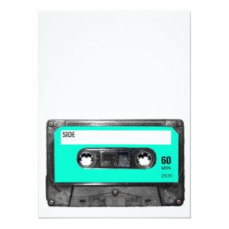 Light Blue Cassette Custom Invites