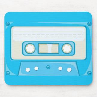 Light blue Cassette Mousepads