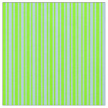 [ Thumbnail: Light Blue & Chartreuse Colored Lines Fabric ]