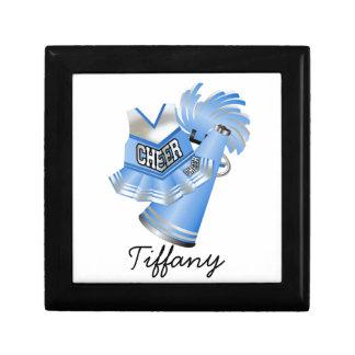 Light Blue Cheerleader Tile Box