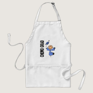 Light Blue CHEMO GRAD 1 (Prostate Cancer) Adult Apron