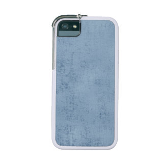 Light Blue  Chenille Fabric Texture Case For iPhone SE/5/5s